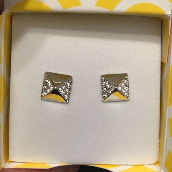 Origami Owl Jewelry - Origami Owl Swavorski Silver Studs! Brand New!